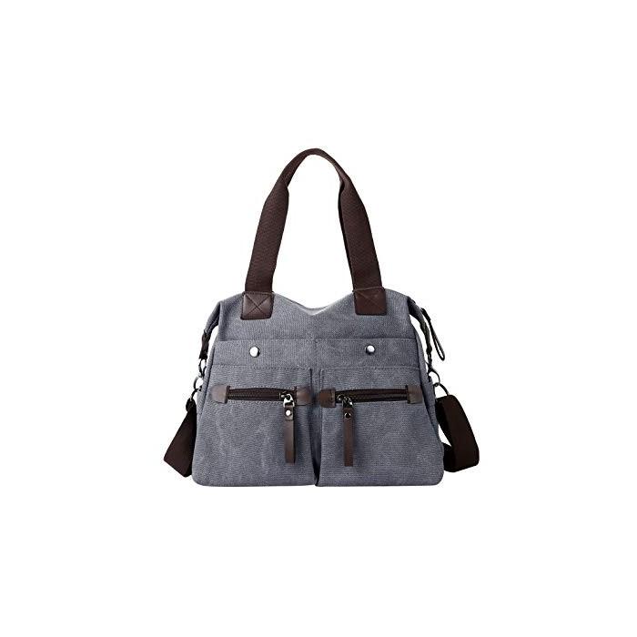 Дамска платнена чанта през рамо Eshow