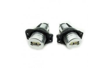 LED крушки за автомобил Eaglerich, Ангелски очи, за BMW, 2X E90 6W