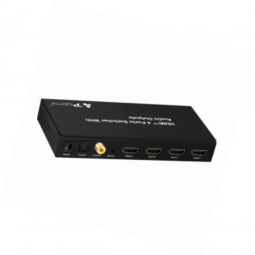 HDMI Интелигентен превключвател с дистанционно управление Portta