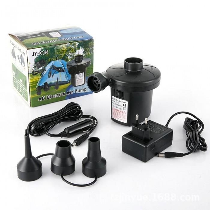 електрическа надуваема помпа за въздух JY-015