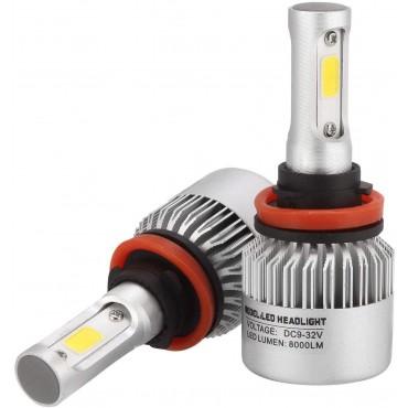 LED крушки за автомобил VIGOREA S2, H11, 80 W, 8000 Lm, 6000 K