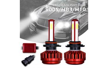 LED крушки за автомобил 9005/HB3/H10, 100W, 12000 LM, 6000 K