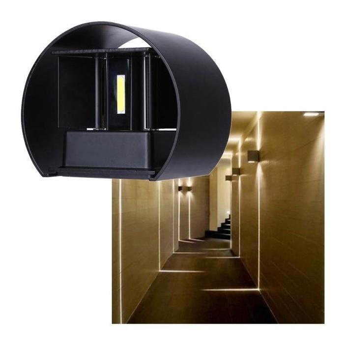 Led външна алуминиева стенна лампа VKTECH