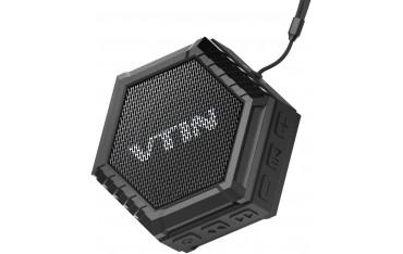 Високоговорител VTIN VNBS010B, Bluetooth, 5 W, Микрофон, Вододустойчив