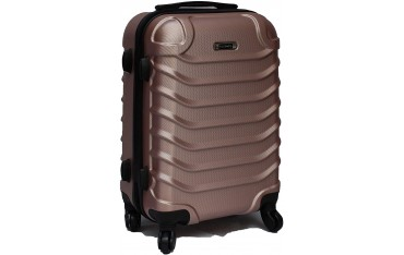 Куфар за ръчен багаж R.Leone, Rose Gold, 55X39X20 см, Обем 40 л, 2,5 кг