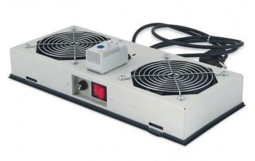Вентилаторен модул DIGITUS DN-19 FAN-2-WM-I, за 19-инчови шкафове за стена IP55