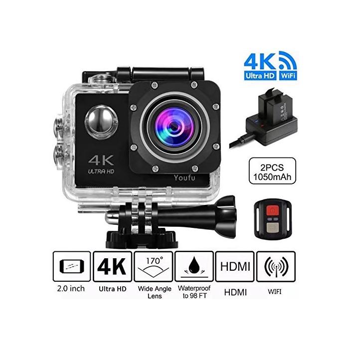 4K WIFI спортна екшън камера youfu