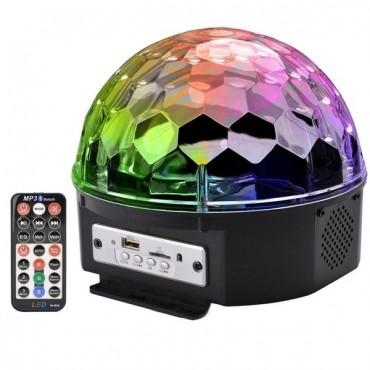 Музикална светодиодна лампа LED Magic Ball