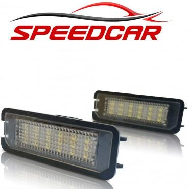 2 LED Автомобилни Светлини на регистрационния номер Speedcar v-030601, за VW