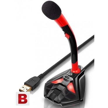 Геймърски Микрофон TONOR K1, USB, Гъвкав
