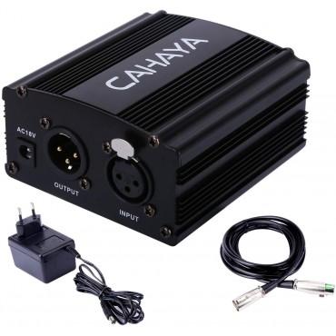 Захранване за кондензаторен микрофон Cahaya 48 V