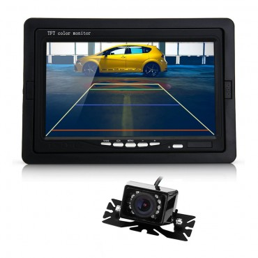 7 инчов голям екран HD камера за нощно виждане CARCHET BQ721