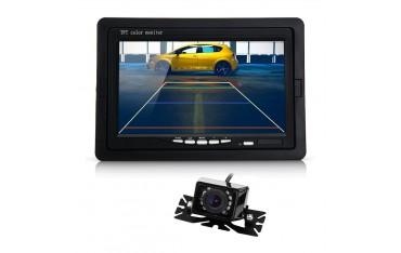 HD Автомобилна Камера CARCHET BQ721, 7''TFT, Реверсивна система, Нощно виждане