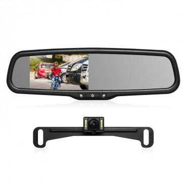 Огледало за кола AUTO-VOX T2 с камера