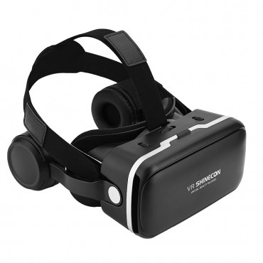 3D VR Очила SHINECON, Вградени слушалки, FOV 108 градуса