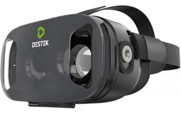 3D VR Очила DESTEK V3, Слушалки, 103 ° FOV, Магнитно задействане