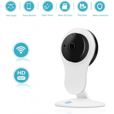 Безжична вътрешна камера за наблюдение IdeaNext DEC2104W