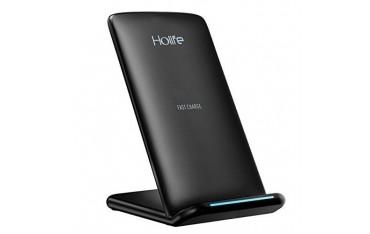 Бързо безжично зарядно устройство Holife, 10W, QI, стойка