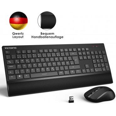 Безжична клавиатура и мишка VicTsing pc123a