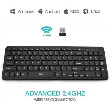 безжична клавиатура Rii RK901