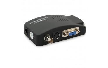 Видео Конвертор JustLink JL-C8011, CCTV камера BNC S-Video към VGA