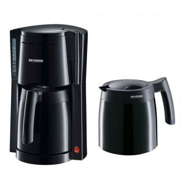 Кафе машина Severin KA 9234, 2 Термо кани, Черна