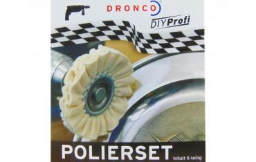 Полиращи Дискове Dronco, Комплект 6 бр,.Полираща паста