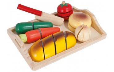 Детски дървен комплект Eichhorn, Дъска за рязане