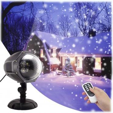 Светодиодна прожекционна лампа с дистанционно управление GESIMEI