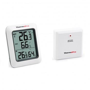 Термохигрометър с вътрешен и външен датчик ThermoPro TP-60