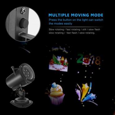Външен LED проектор с 10 диапозитиви Tanbaby