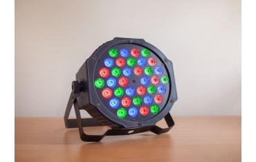 RGB Сценично осветление SOLMORE, 36W, DMX-512 RGB