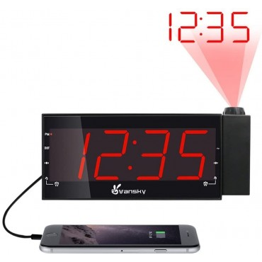 Диммируем прожекционен будилник Vansky VS-PAC01