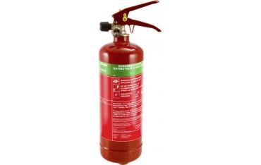 Пожарогасител под налягане Alecto ABS-2, Пяна, Тип ABS-2, Манометър