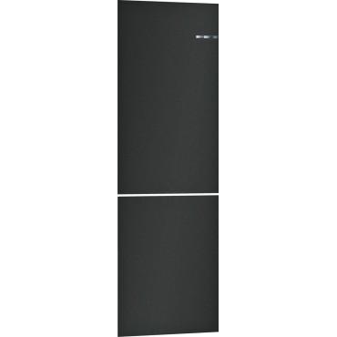 Клип врата за хладилник Bosch KSZ1BVZ00, 203 x 60 cm, Черно матово