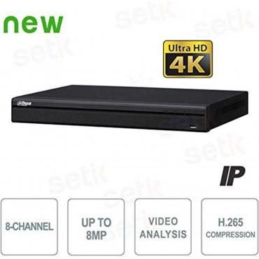 8 канален 4K мрежов рекордер Dahua NVR4208-4KS2