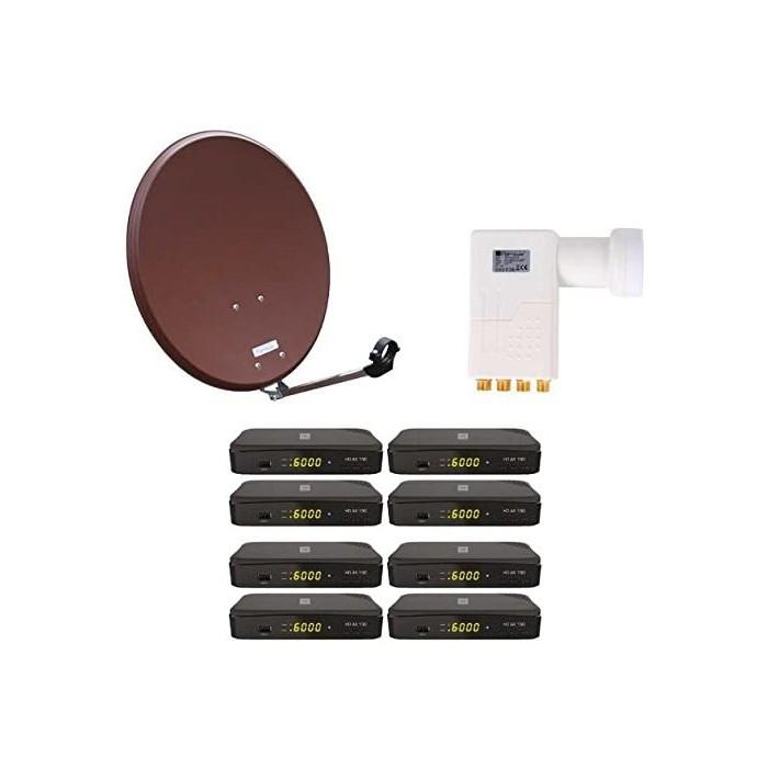 Цялостната сателитна система HD Opticum SAT