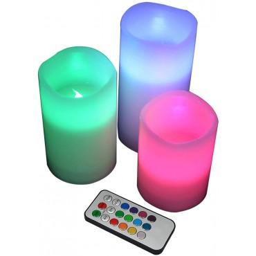 Комплект от 3 LED свещи YAKii