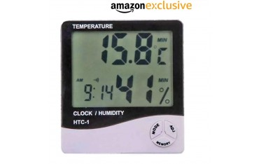 Термометър Ace Instruments HTC-1, Влажност, Часовник, Аларма