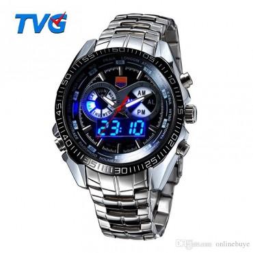 Моден часовник от неръждаема стомана TVG