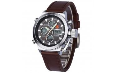 Мъжки часовник ZEIGER, Неръждаема стомана, Водоустойчив 3 ATM