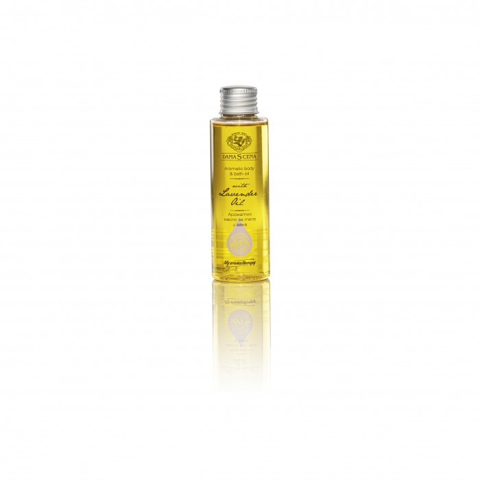 Натурално масажно масло с лавандулово масло Дамасцена
