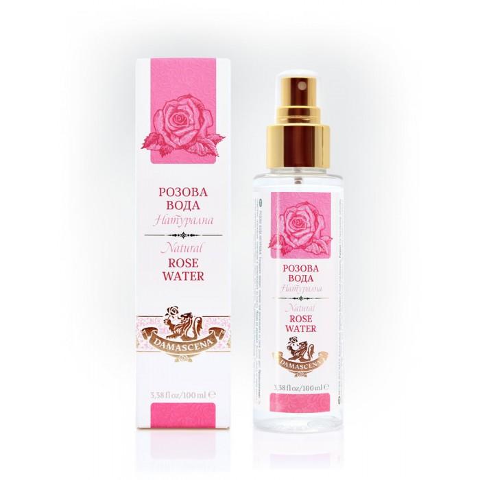 Натурална Розова Вода Спрей Дамасцена