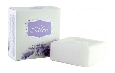 Натурален сапун с Лавандулово масло Alba