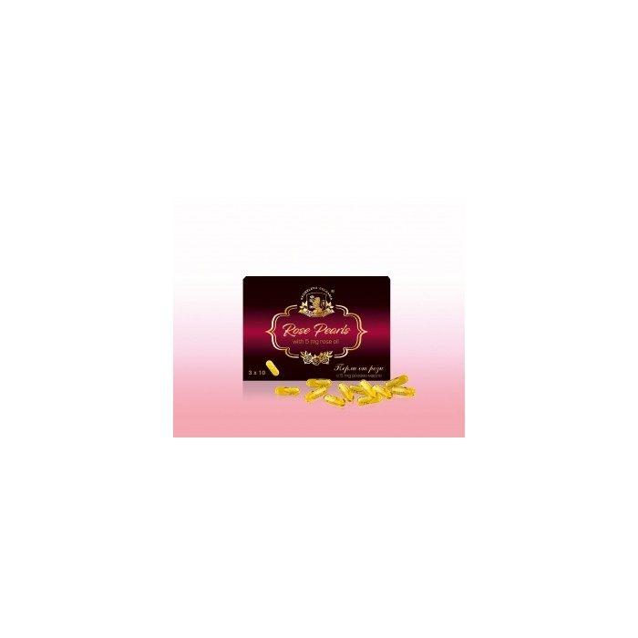 Натурални капсули от розово масло Alba