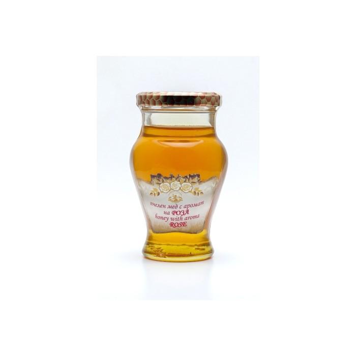 Натурален пчелен мед с аромат на Роза Alba