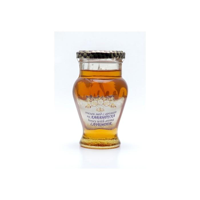 Натурален пчелен мед с аромат на лавандула Alba