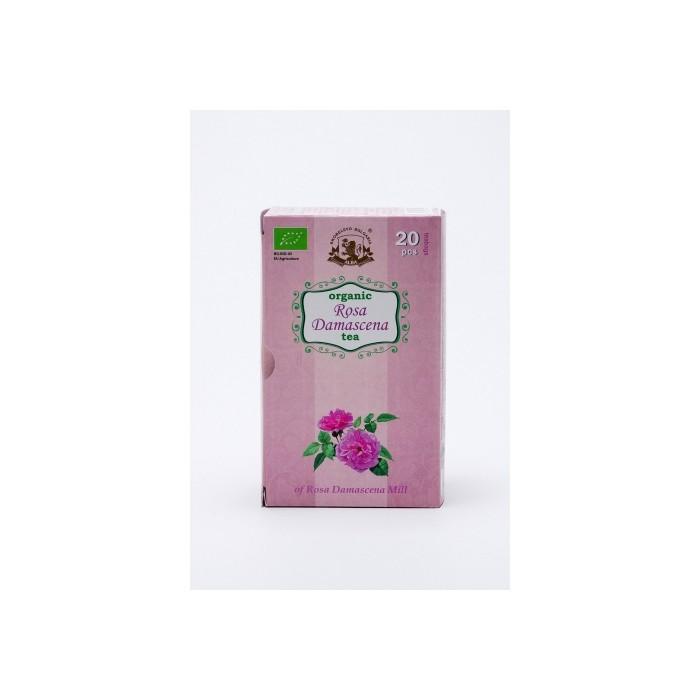 Органичен чай от Роза Дамасцена Alba