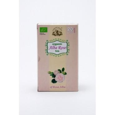 Био чай от маслодайна бяла роза Alba