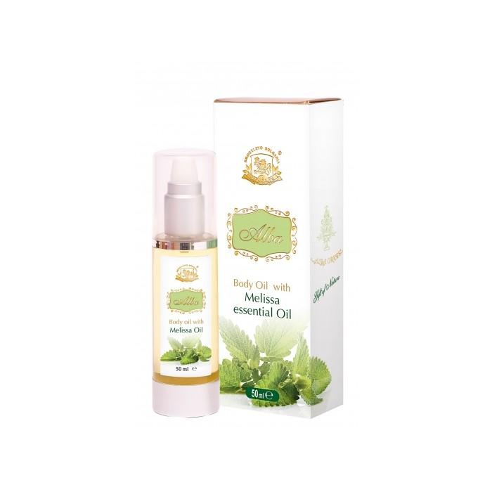 Натурално масажно масло от маточина Alba